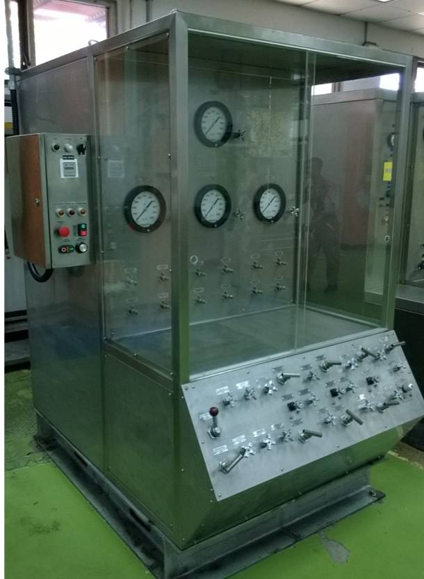 PT Anglo Niaga Jaya Work Hydraulic Test Bench – GMF Indonesia_1