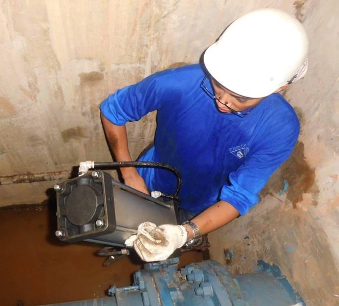 PT Anglo Niaga Jaya Work Replacement  & Maintenance Pneumatic Actuator  – AETRA Jakarta Timur_1